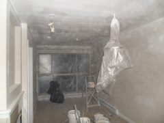 Spraying Ceilings